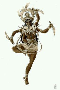 The goddess Kali Maa
