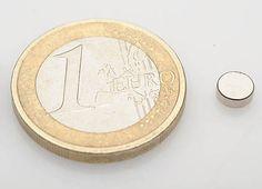 Disco pequeño de Neodimio