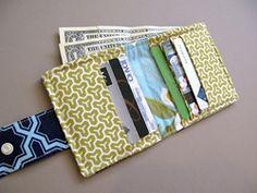 Easy Bifold Wallet   November 5 ~ Gifts for Tweens + Teens « Sew,Mama,Sew! Blog