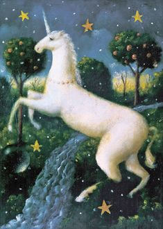.Unicornio. Ilustración de Stephen Mackey