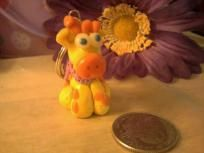 giraffee key chain