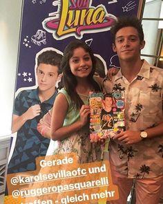 Karol y Ruggero con la Revista Bravo! #ruggarol #karolsevilla #ruggeropasquarelli #karolistas #karolistos #ruggeristas #ruggarol #soyluna #soylunalive #DisneyAlemania ❤