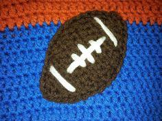 Crochet Patterns Alabama Football : crochet pattern football applique more free pattern crochet pattern ...