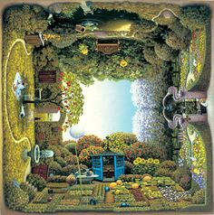 Artist Jacek Yerka creates outstanding art based on his childhood memories.