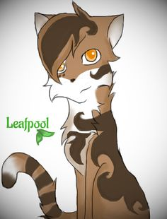 Warriorcats Leafpool by silvershade21XD.deviantart.com on @DeviantArt