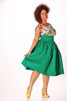 bd4aa43d5bc JIBRI Plus Size High Waist Flare Skirt by jibrionline on Etsy - Plus Size  Fashion
