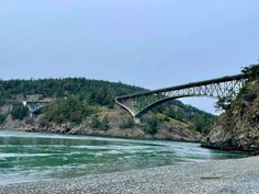 #Seattle Must See ~ Deception Pass Bridge 🌁 #Whidbyisland, the most beautiful state in the Pacific Northwest. 🌲#pnw #pnwtravel #WashingtonState #emeraldcity #mountains #travel 🛫 #tourism #travelseattle #bridge #park #bridges #deceptionpass