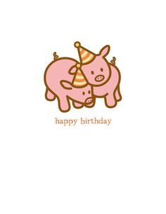Individually wrapped x card with a cream envelope. on premium, recycled uncoated cardstock. Inside Message: Hogs and kisses on your birthday! Happy Birthday Pig, Happy Birthday Messages, Happy Birthday Quotes, Birthday Greeting Cards, Birthday Greetings, Card Birthday, Birthday Wishes For Myself, Happy B Day, Kisses