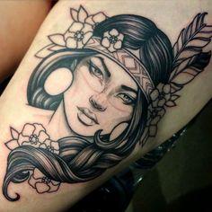 Tatto done by Teniele Sadd (in progress)