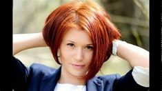Images Textured Bob Hairstyles, Stacked Bob Hairstyles, Cute Hairstyles For Short Hair, Girl Short Hair, Short Hair Cuts, Short Hair Styles, Hairstyles 2018, Short Girls, Haircut For Thick Hair