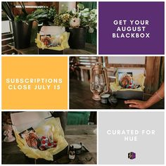 Don't forget our August blackbox subscription window closes this Saturday July 15 at 11:59 pm. You snooze you lose...well at least until the September subscription window opens .  #blackbox #blackowned #blackmade #subscriptionbox #subscribetoday #whatsinyourbox #giftbox #surprisebox #getyourblackbox #supportblackbusiness #shopsmall #blkcreatives #blackmakers #blackentrepreneurs #august #melaninmagic #thursday #summerspecial #summerbox #curatedforhue