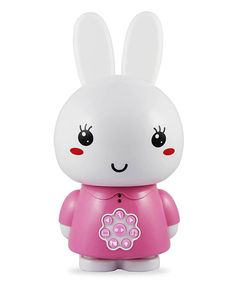 This alilo Pink Honey Bunny Media Player/Color-Changing Night-Light by alilo is perfect! #zulilyfinds