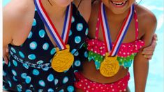 Can you tell me how realistic these medals look?!! They are perfect for Olympic themed kids parties!!