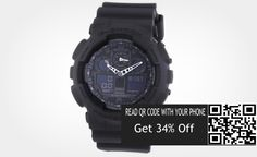 Save On G-Shock Men's Quartz Watch with Analogue Digital Display and Resin Bracelet Resin Bracelet, Bracelets, G Shock Men, Casio Watch, Quartz Watch, Display, Watches, Digital, Phone