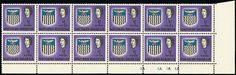 Northern Rhodesia 1963 error block of 12 valued at $72,000 Rare Stamps, Stamp Collecting, Postage Stamps, Stamps