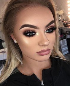 50 Eyeshadow Makeup Ideas For Brown Eyes – The Most Flattering Combinations - Care - Skin care , beauty ideas and skin care tips Flawless Makeup, Love Makeup, Simple Makeup, Makeup Inspo, Makeup Inspiration, Makeup Ideas, Makeup Tips, Natural Makeup, Prom Makeup