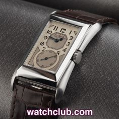 "Rolex Prince ""Brancard"" - Stainless Steel REF: 971 Rolex Watches For Men, Mens Sport Watches, Fine Watches, Wrist Watches, Vintage Rolex, Vintage Watches, Art Nouveau, Art Deco, Vintage Decor"