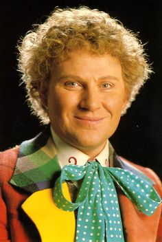 The 6th Doctor (Colin Baker) - 1984 to 1986.
