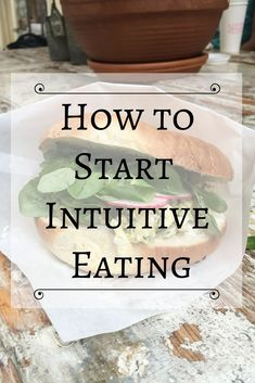 Learn how to start intuitive eating. Five tips on how to become an intuitive eater and start learning how to trust your body around food. Binge Eating, Stop Eating, Clean Eating, Eating Well, Night Eating Syndrome, Eating At Night, Holistic Nutrition, Vegan Nutrition, Stress Eating