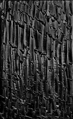 "From French artist Pierre Soulages, also known as ""the painter of black. Tachisme, Contemporary Artwork, Modern Art, Abstract Expressionism, Abstract Art, Black Art, Black And White, Art Pierre, Francis Picabia"