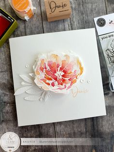 Blütenstempel: Bis Mitternacht... Happy Birthday, Birthday Cards, Hero Arts Cards, Doodle, Miss You Cards, Collage Art Mixed Media, Pen And Watercolor, Paper Cards, Art Cards