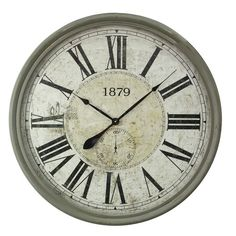 "Found it at Wayfair - Oversized 31.5"" Wall Clock"