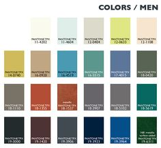 Lenzing Color Trends Autumn/Winter 2014/2015 - Color Usage Menswear   Posted By Senay GOKCEN, Editor-in-Chief   Fashion Trendsetter