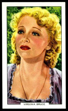 Todos os tamanhos | Cigarette Card - Virginia Bruce | Flickr – Compartilhamento de fotos!