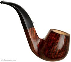 L'Anatra Smooth Bent Billiard (One Egg) Pipes at Smoking Pipes .com