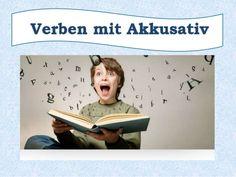 VERBEN mit AKKUSATIV - Konjugation - Menschen A1 Lektion 6