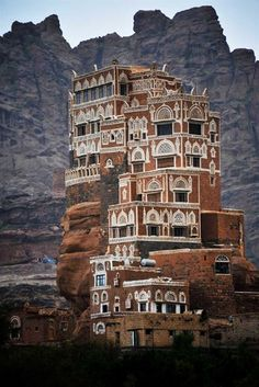 Dar al-Hajar (Rock Palace) Yemen.