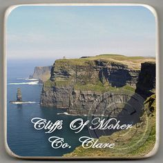 Cliffs Of Moher, Co. Clare. Irish / Ireland Coasters.