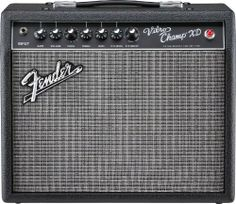 Fender Vibro Champ XD Electric Guitar Amplifier by Fender. $249.99. Our Vibro Champ XD takes the vintage Vibro Champ into a new era with classic styling, simple controls, a good variety of clean and distorted tones and unmistakable tube feel and performance at a remarkable price. Features include a real tube amp combined with up-to-date extras including versatile amp voicing and superb DSP effects. Its solid-state overdrive and distortion eliminate many of the preamp tube pr...
