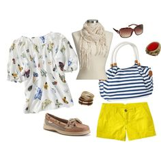 Vacation Casual, created by daramorton on Polyvore