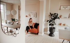 The White Room: Anne-Sophie & Oskar's Frederiksberg Apartment