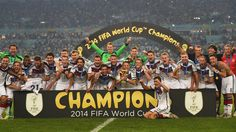 Germany - Champion of 2014 FIFA World Cup - Brazil. Beautiful