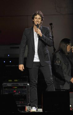 Josh Groban- I've been to one of his concerts and it was amazing! He makes jokes, engages the audience, and still sounds great.