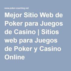 Mejor Sitio Web de Poker para Juegos de Casino | Sitios web para Juegos de Poker y Casino Online