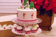 Christmas cake by Craftsy member SugarArtbySusan