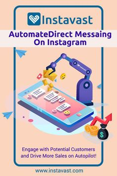 Automate Your Direct Messaging On Instagram. Engage with Potential Customers and Drive More Sales on Autopilot! #Instagram_marketing #Instagram_Automation #Instagram_Auto_DM #Autodm