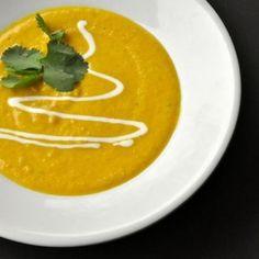 Pittige bloemkool soep.