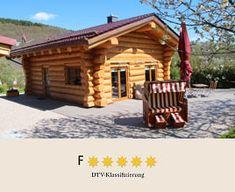 Ausstattung & Grundriss des 5*-Ferienhauses - Canadian Luxury Chalet - 5*-Ferienhaus in 55767 Leisel