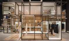 Completed in 2016 in Shanghai, China. Images by Dirk Weiblen. The 'Modular Lilong' was designed for Value Retail China to showcase 'Chuang x Yi'; a concept brand that provides a platform for Chinese fashion...