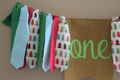 Celebrate your winter baby's first birthday with a pink and green Christmas themed highchair banner! Customizable and available in multiple sizes-handmade and available on Etsy First Birthday Banners, First Birthday Photos, Girl First Birthday, Christmas Traditions, Christmas Themes, Fabric Tutu, Wall Banner, High Chair Banner