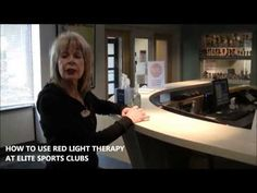 Red Light Therapy Tutorial at Elite--how to use the red light therapy beds & benefits of red light therapy (younger, smoother, firmer skin; joint pain relief)