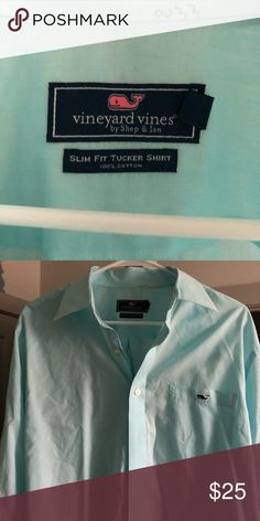 eb6be7e5 Vineyard Vines button down shirt Light blue, great condition, worn only a  few times