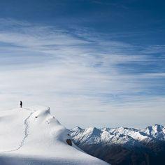 New Zealand alps.