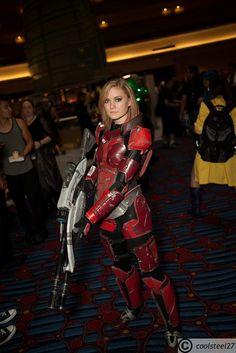 Mass Effect cosplay