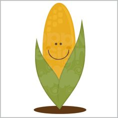 Cute Corn Cob (Free for Deluxe and Basic Members)
