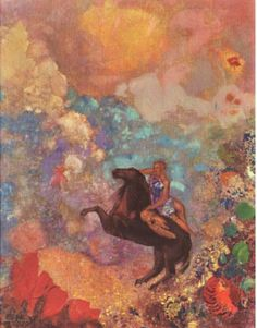 Odilon Redon (Muse on Pegasus) Art Poster Print Posters at AllPosters.com